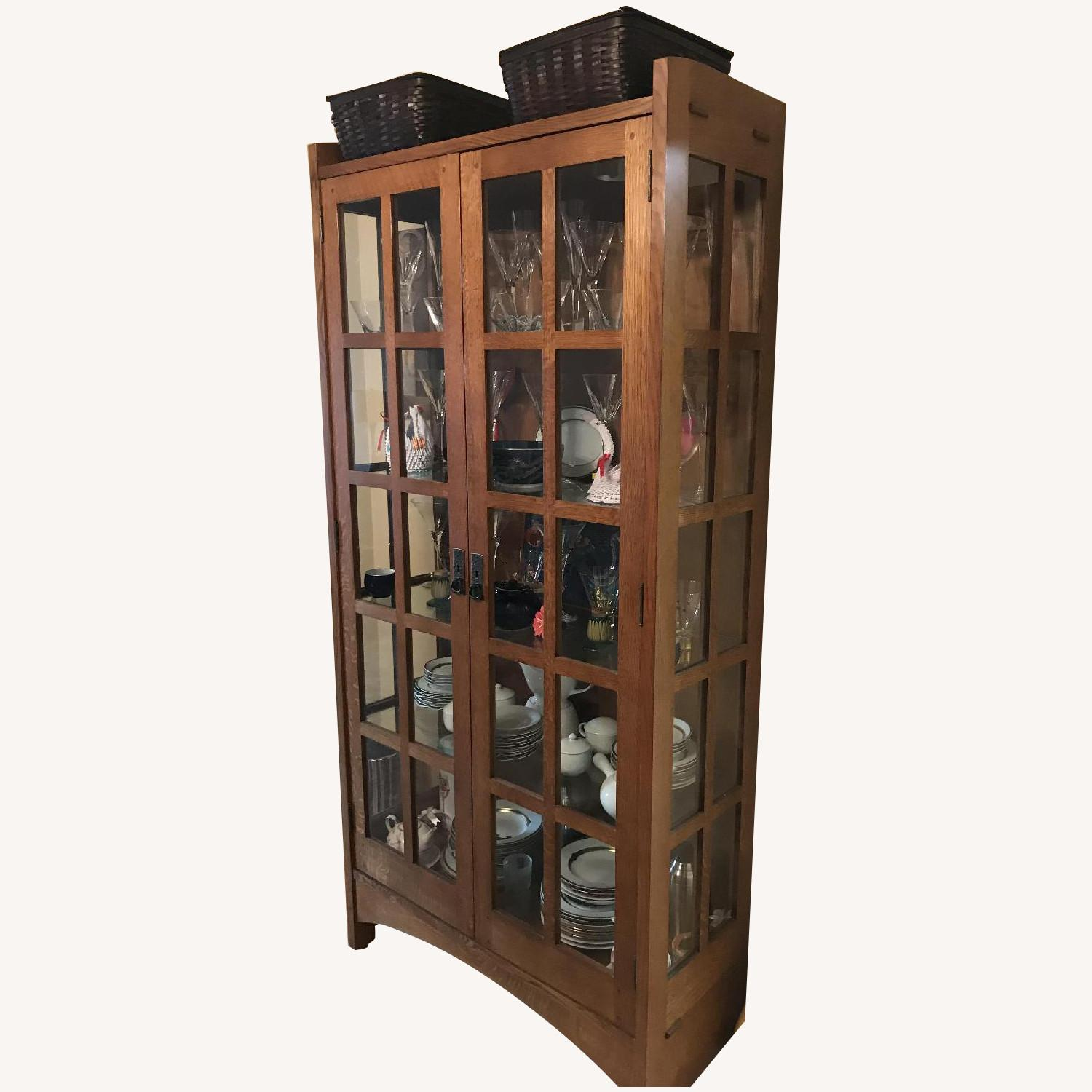 Stickley Mission China Cabinet - image-0