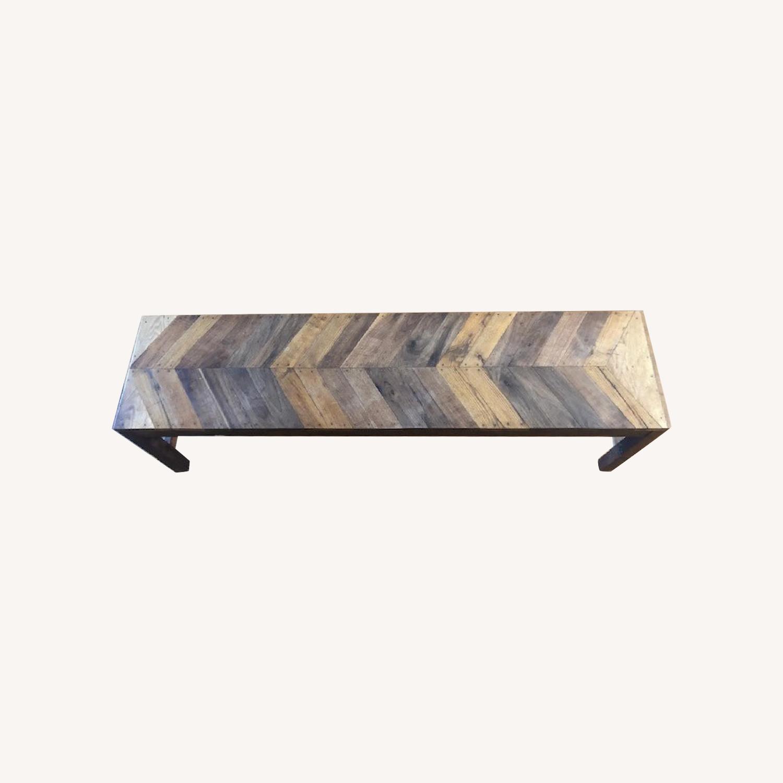 Nightwood NY Falcon Herringbone Bench