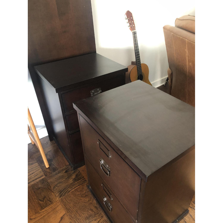 Pottery Barn Bedford 6 Drawer Desk - image-2