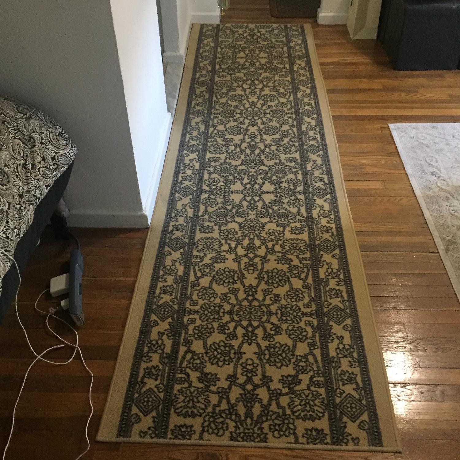 Low Pile Rubber Backed Runner Rug - image-2