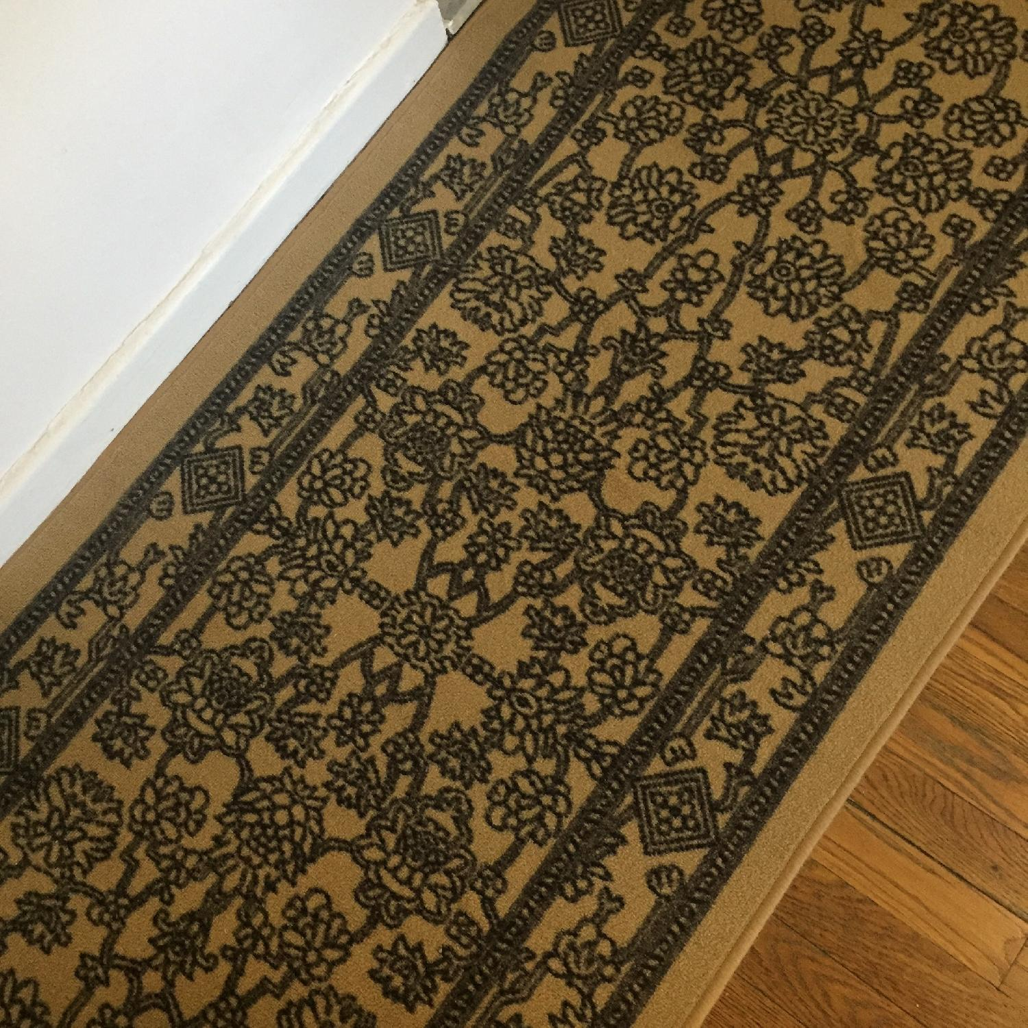 Low Pile Rubber Backed Runner Rug - image-3