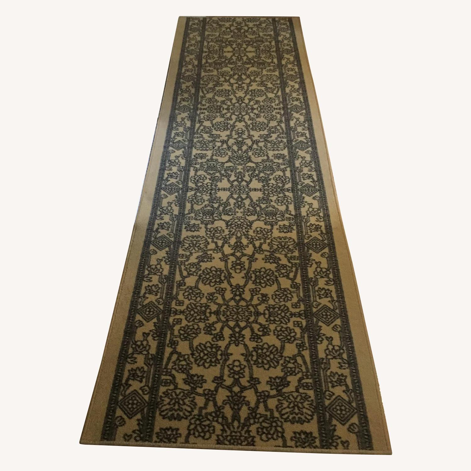 Low Pile Rubber Backed Runner Rug - image-0
