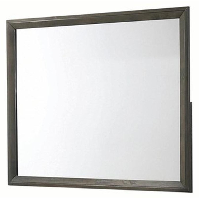 Mirror in Dark Grey Finish Frame - image-1
