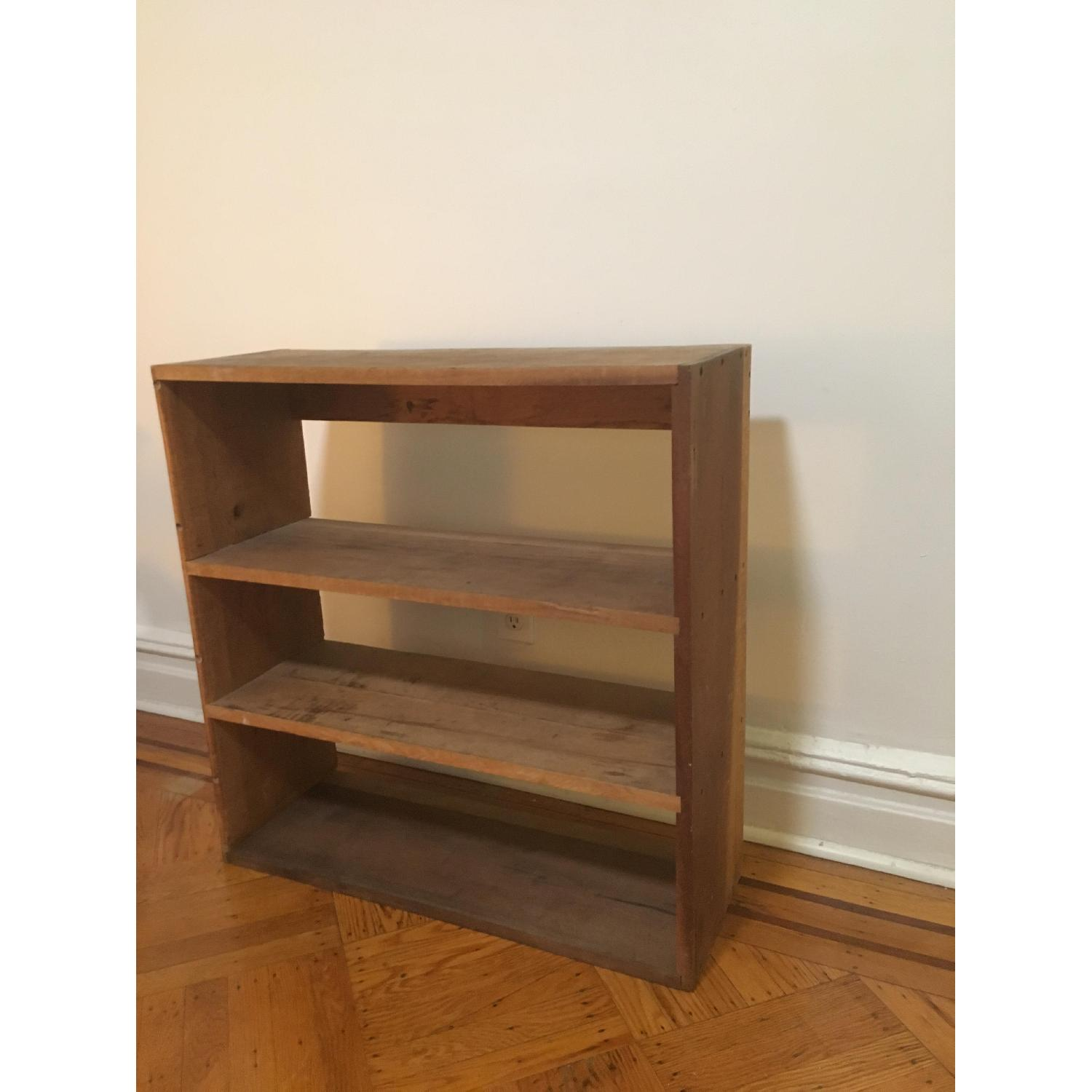 Vintage Bookcase w/ 3 Shelves - image-4