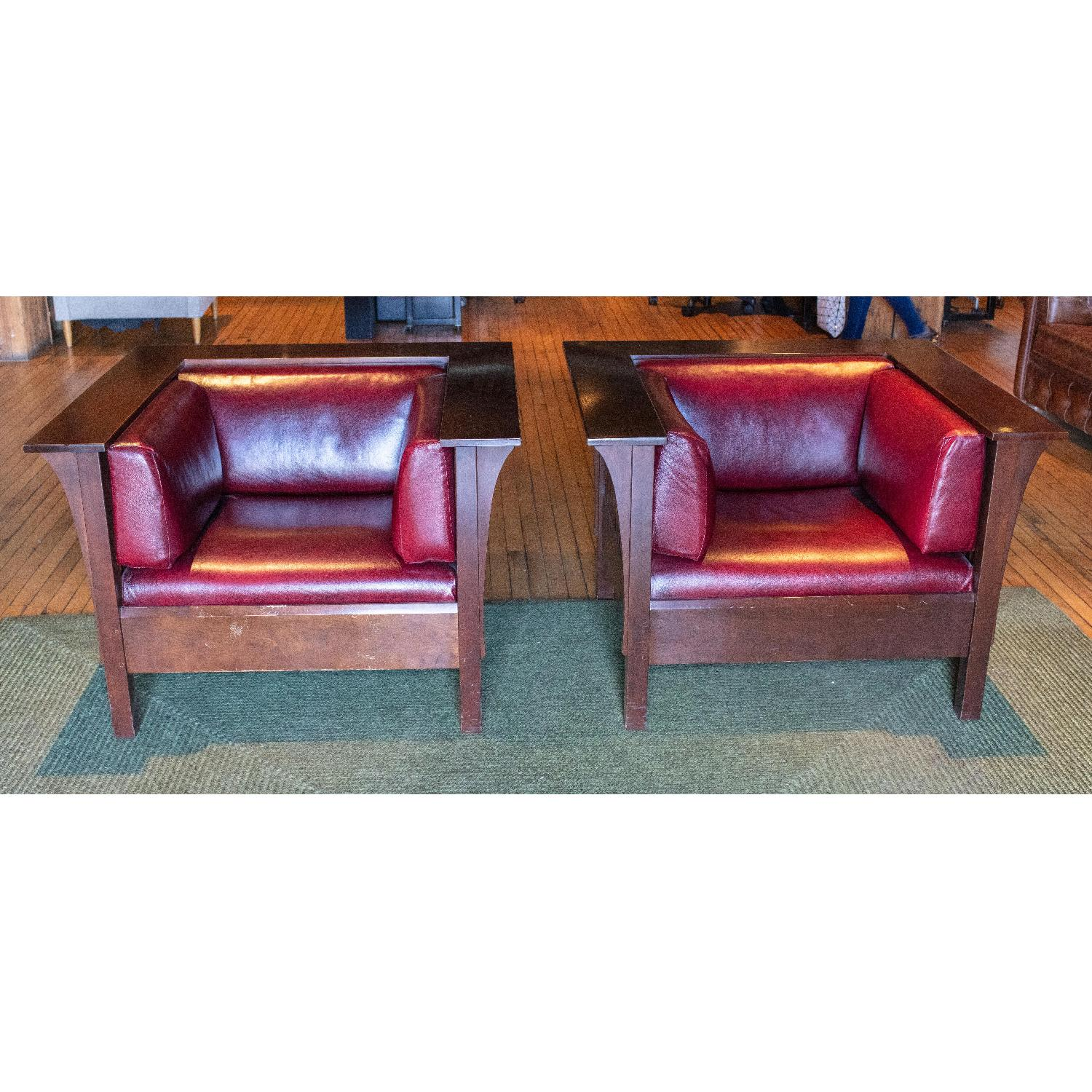Stickley Prairie Spindle Chairs - image-1