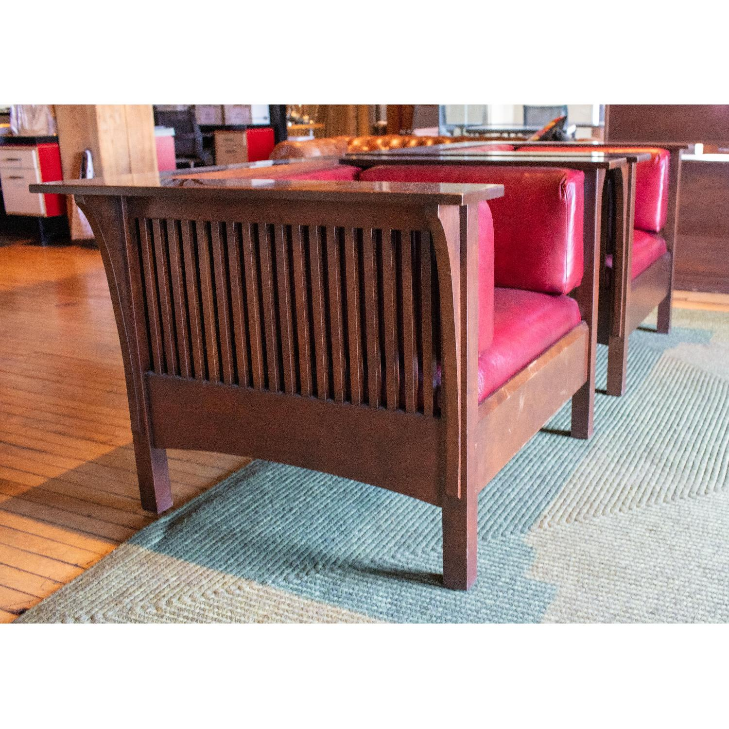 Stickley Prairie Spindle Chairs - image-2