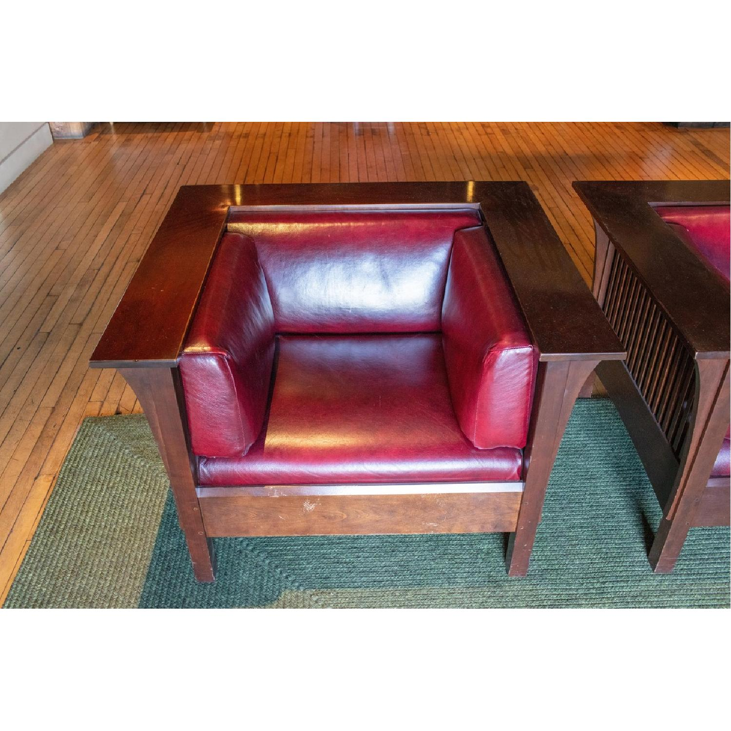 Stickley Prairie Spindle Chairs - image-3