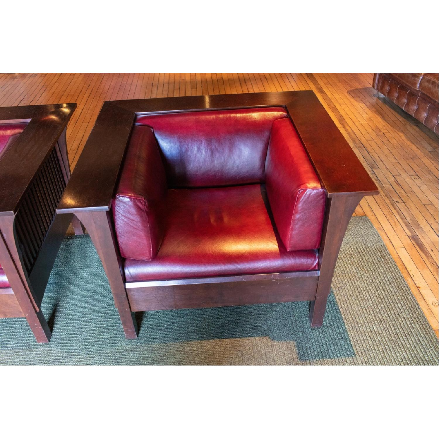 Stickley Prairie Spindle Chairs - image-4