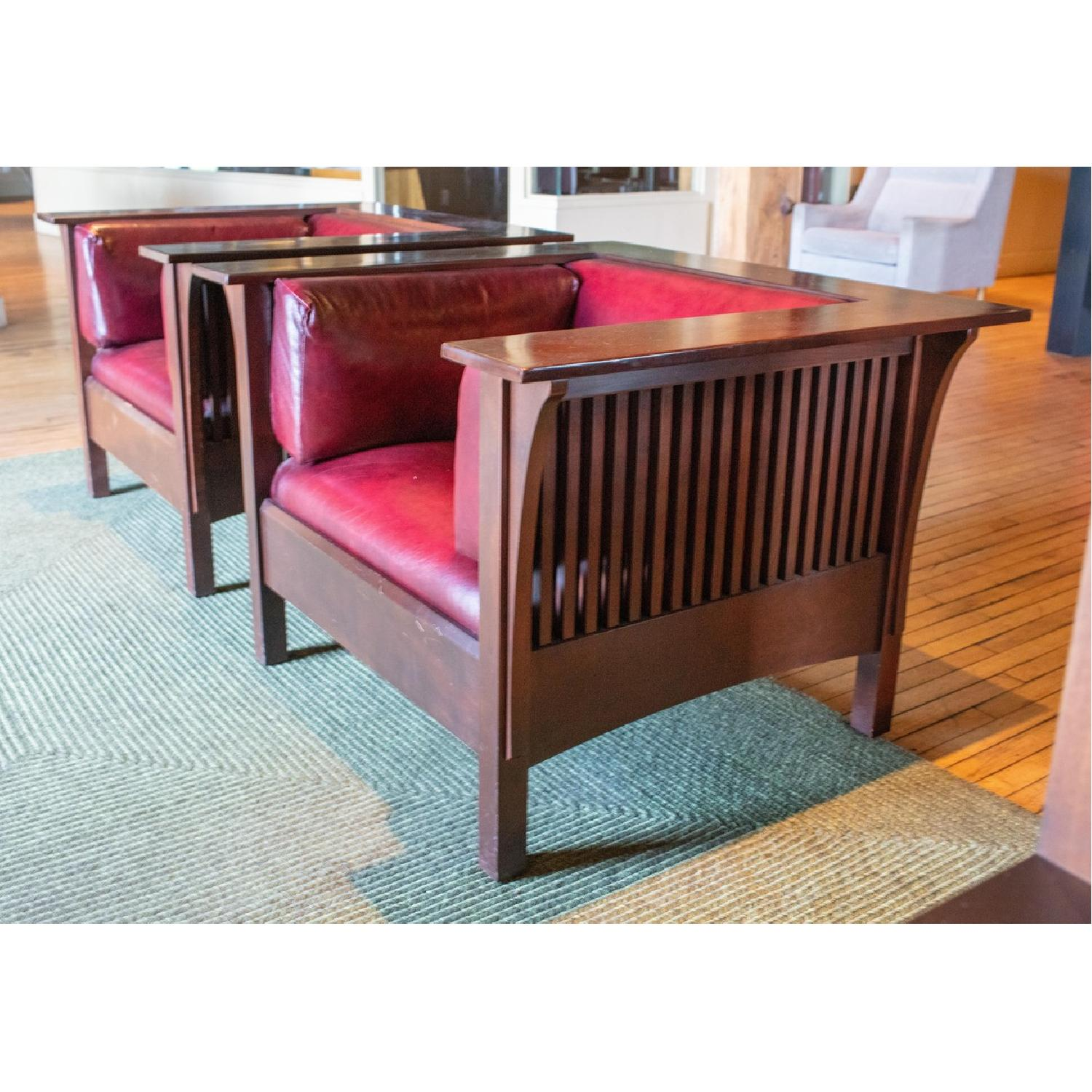 Stickley Prairie Spindle Chairs - image-5
