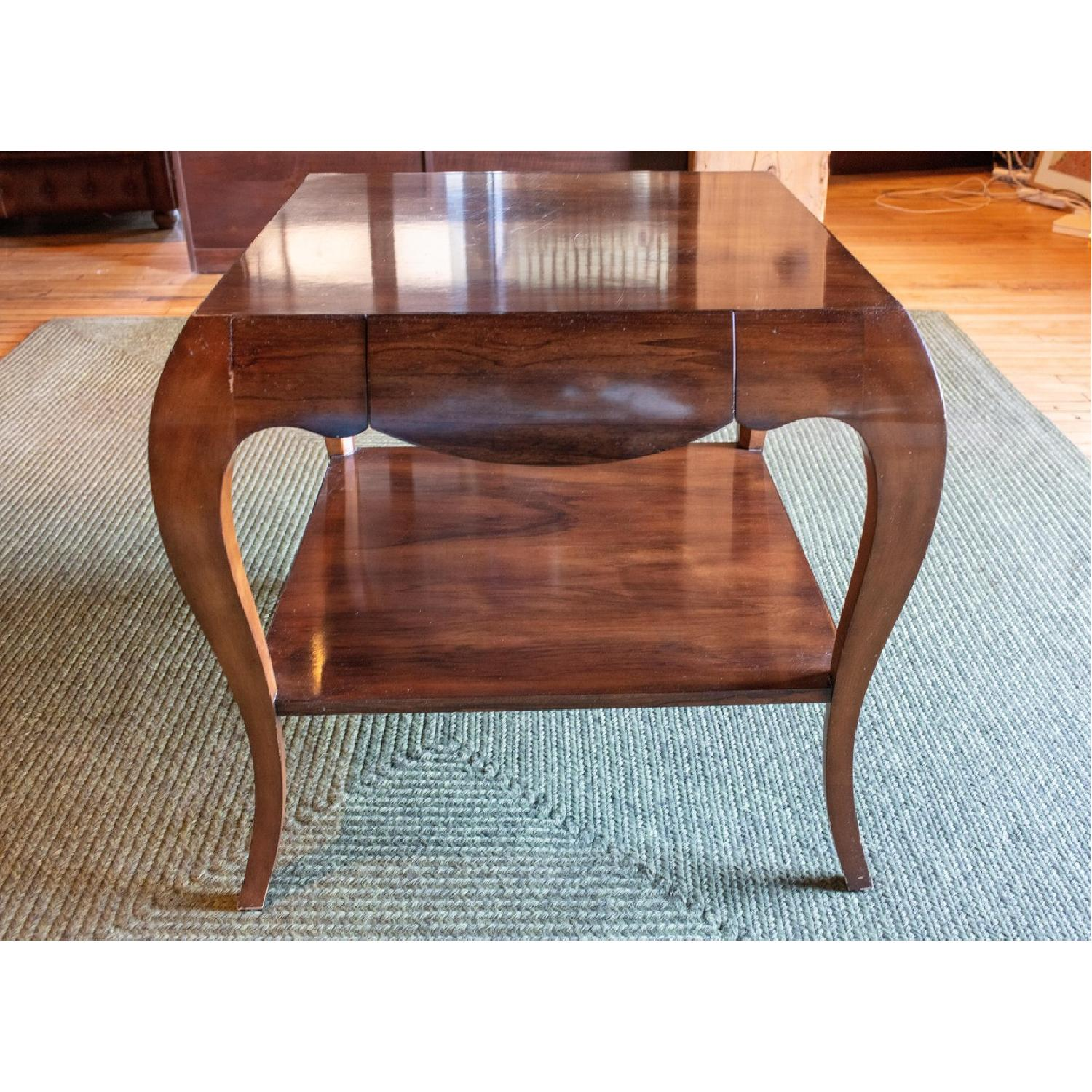 Theodore Alexander by Keno Bros Fine Point Accent Table - image-1