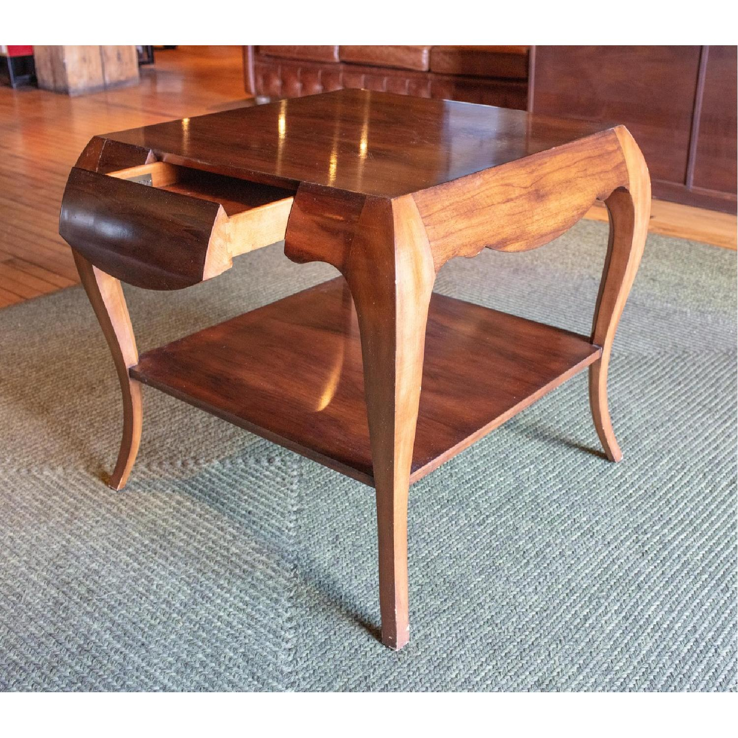 Theodore Alexander by Keno Bros Fine Point Accent Table - image-5