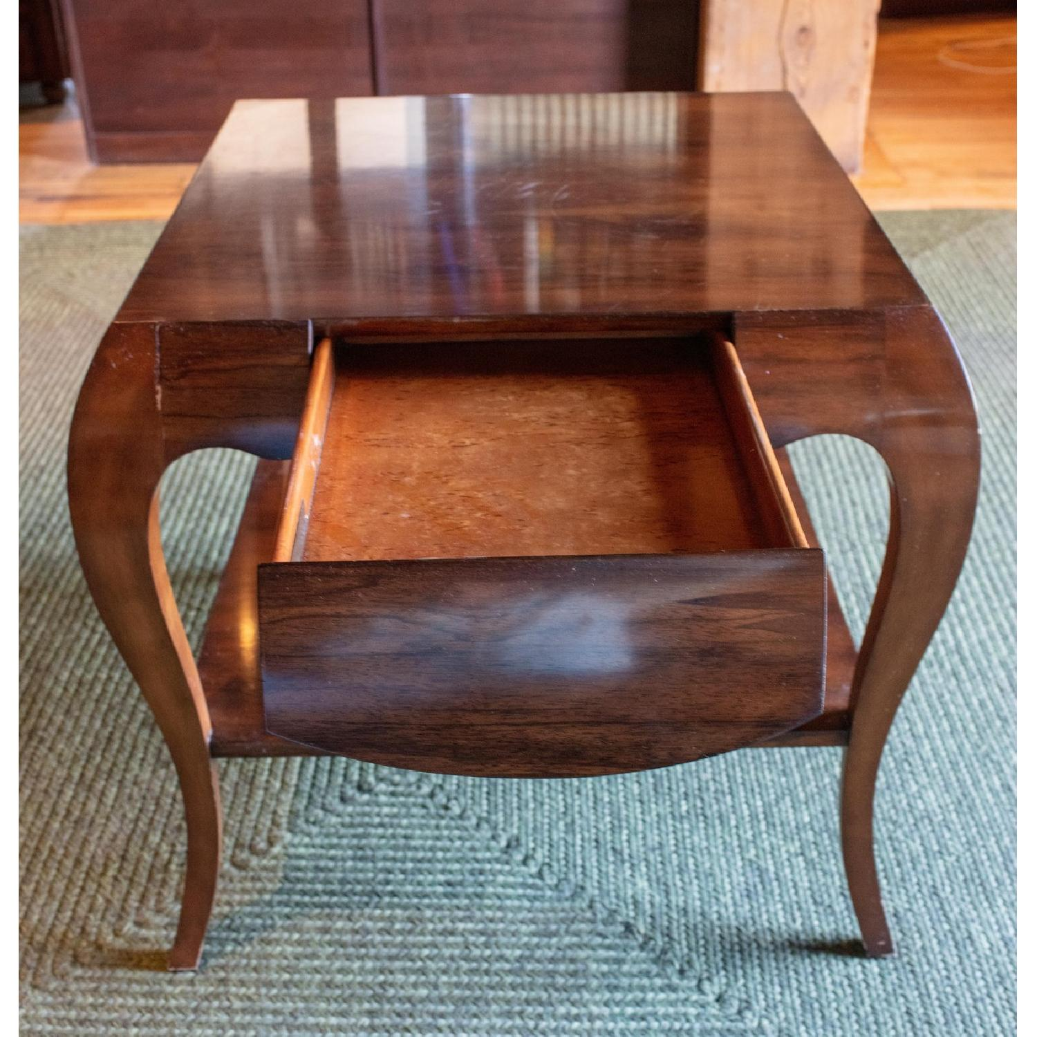 Theodore Alexander by Keno Bros Fine Point Accent Table - image-3