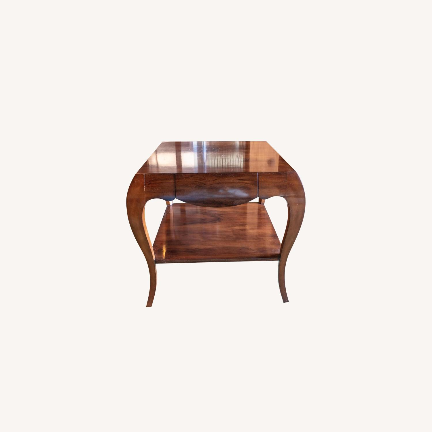 Theodore Alexander by Keno Bros Fine Point Accent Table - image-0