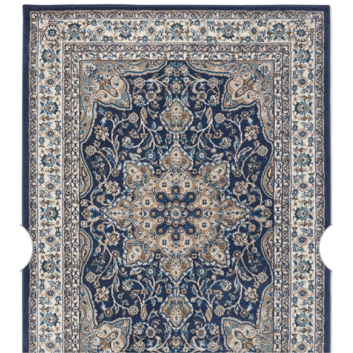 Charlton Home Arend Blue/Ivory Area Rug - image-4