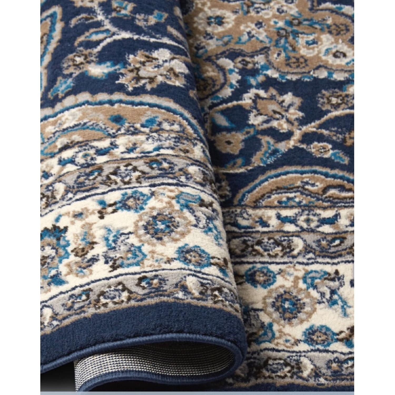 Charlton Home Arend Blue/Ivory Area Rug - image-2