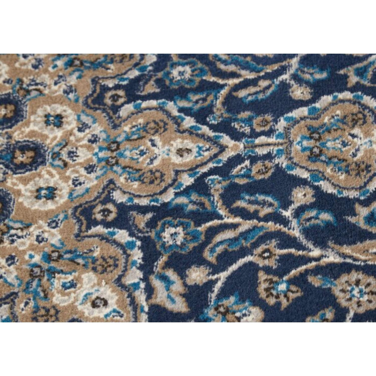 Charlton Home Arend Blue/Ivory Area Rug - image-3