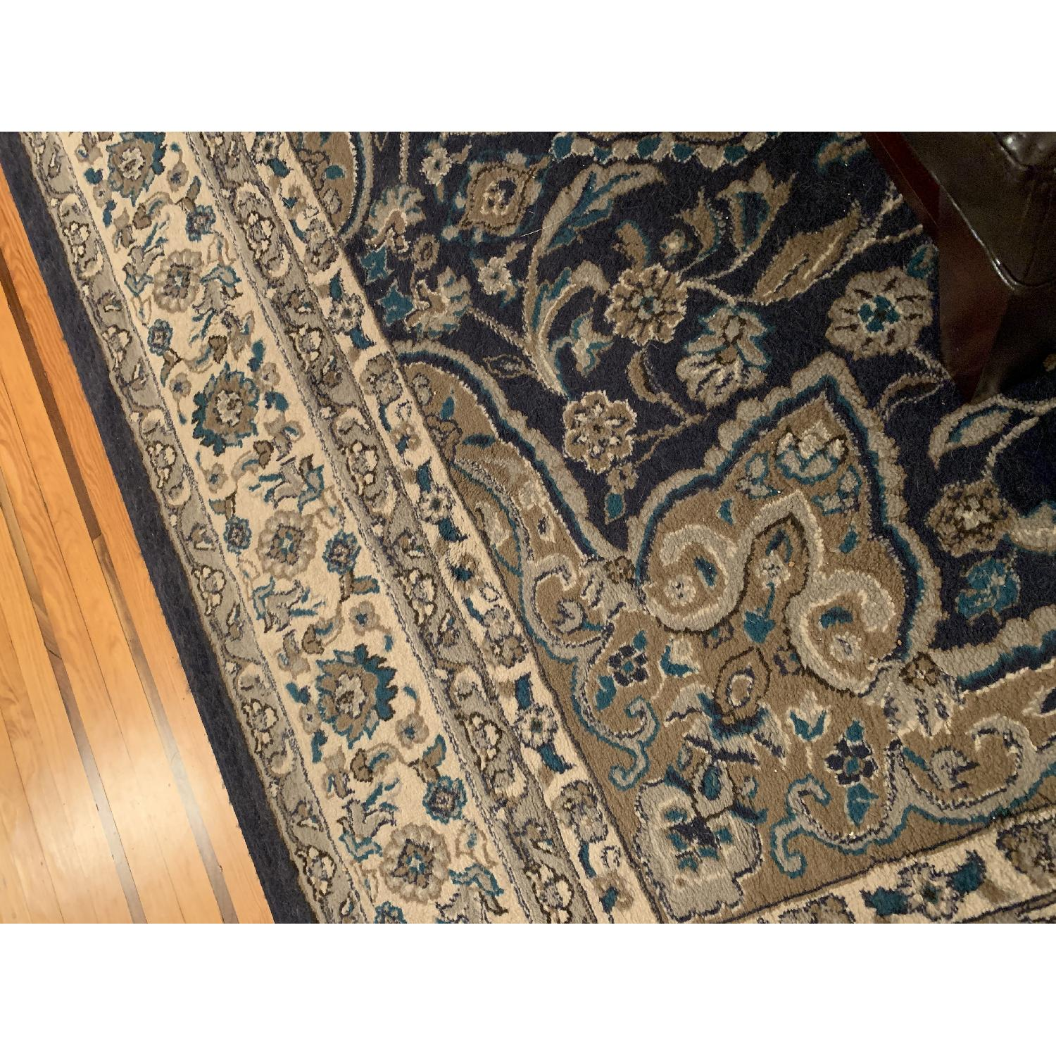 Charlton Home Arend Blue/Ivory Area Rug - image-5