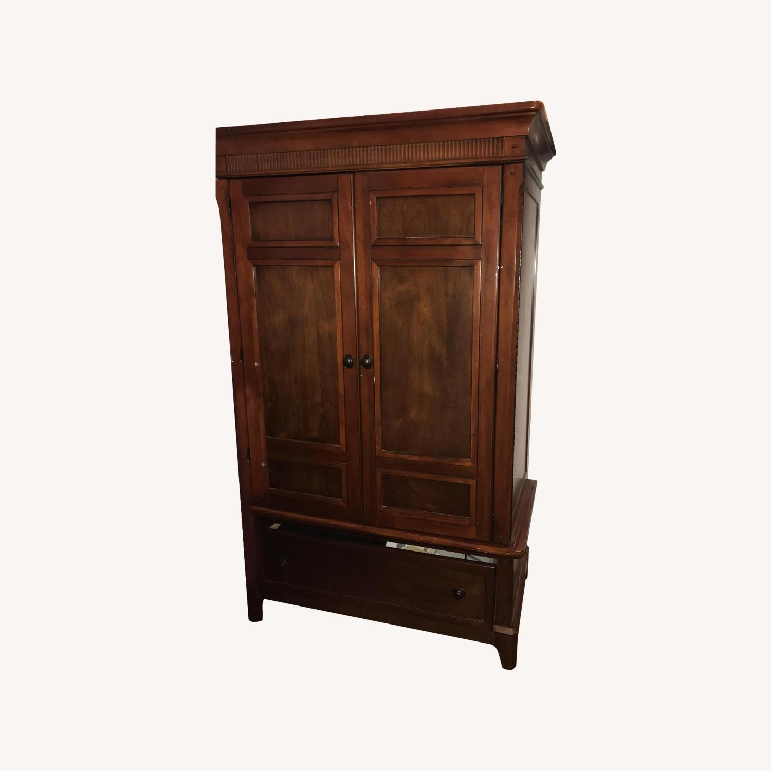 Entertainment Storage Armoire - image-0
