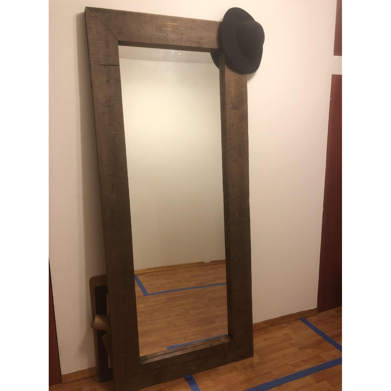Reclaimed Wood Mirror - image-0