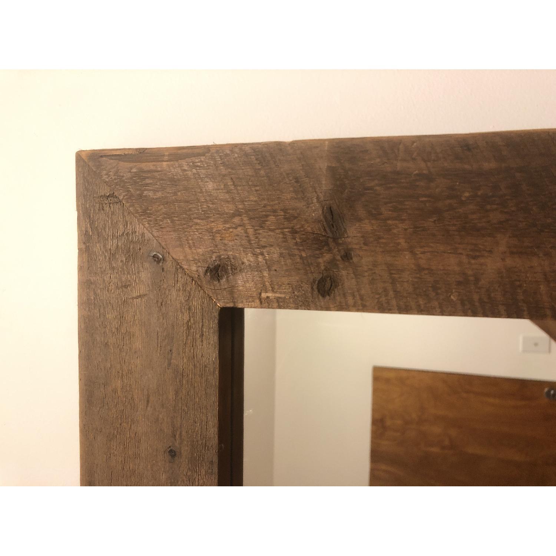 Reclaimed Wood Mirror - image-2