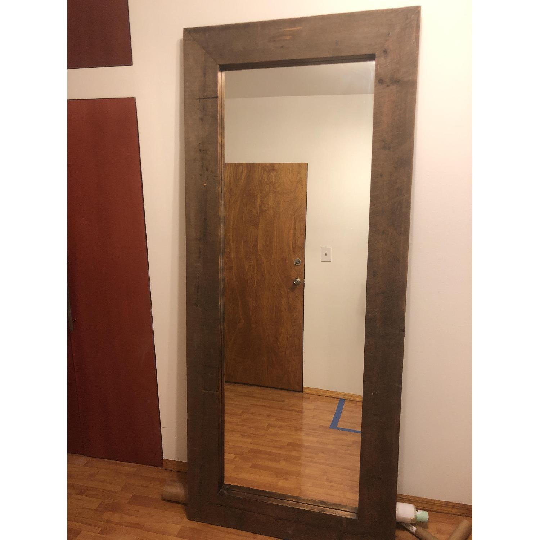 Reclaimed Wood Mirror - image-4