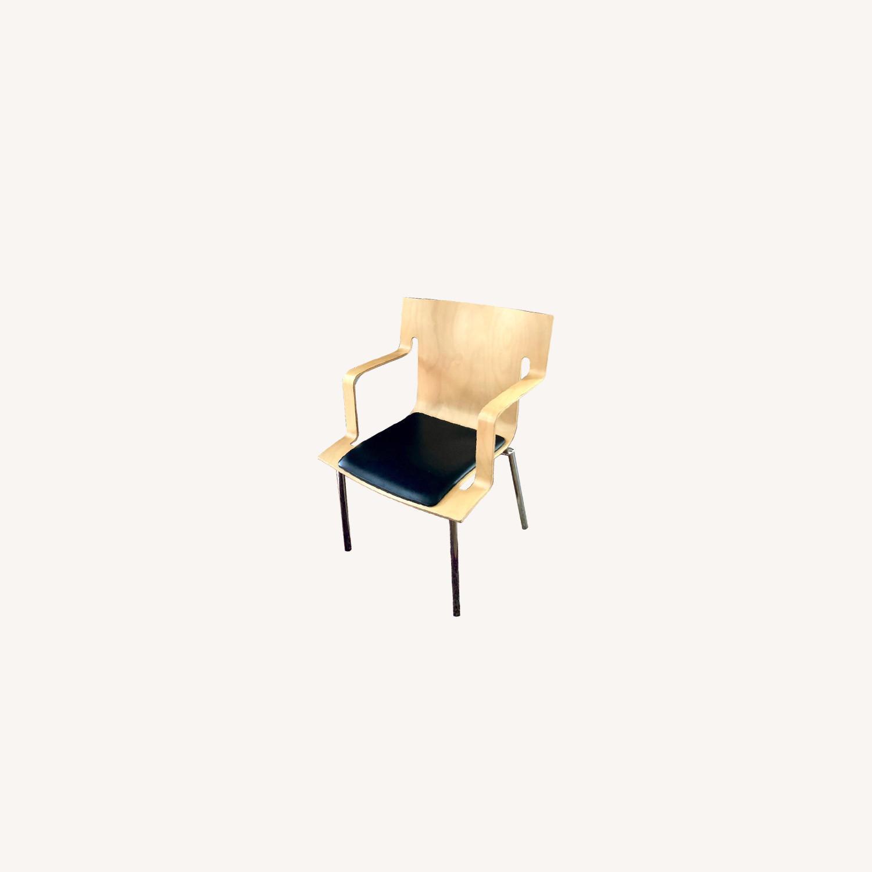Lammhults Vintage 1990s Mobel Swedish Armchairs - image-0