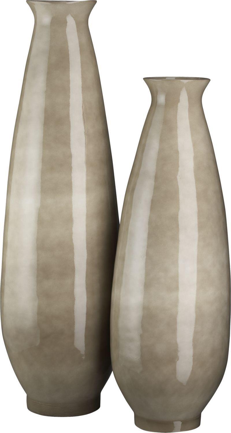 Crate & Barrel Floor Vases