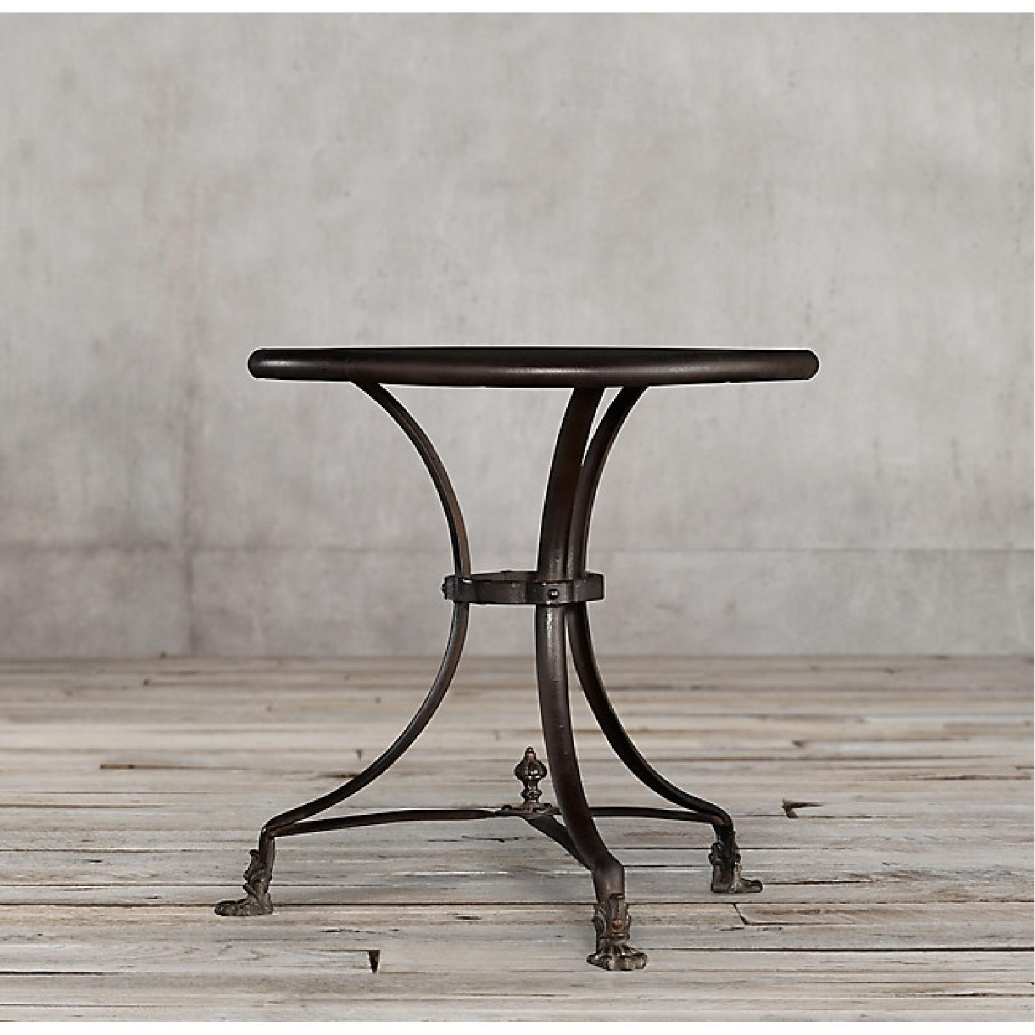 Restoration Hardware French Brasserie Lions Foot Table - image-3