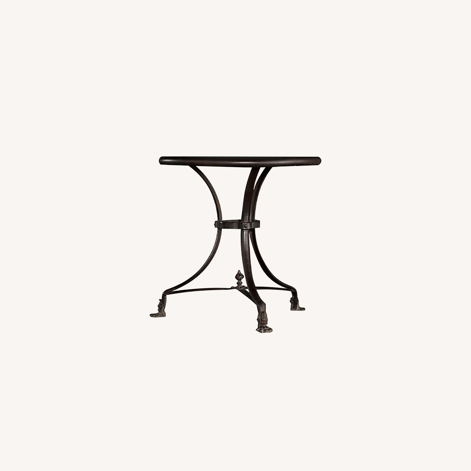 Restoration Hardware French Brasserie Lions Foot Table