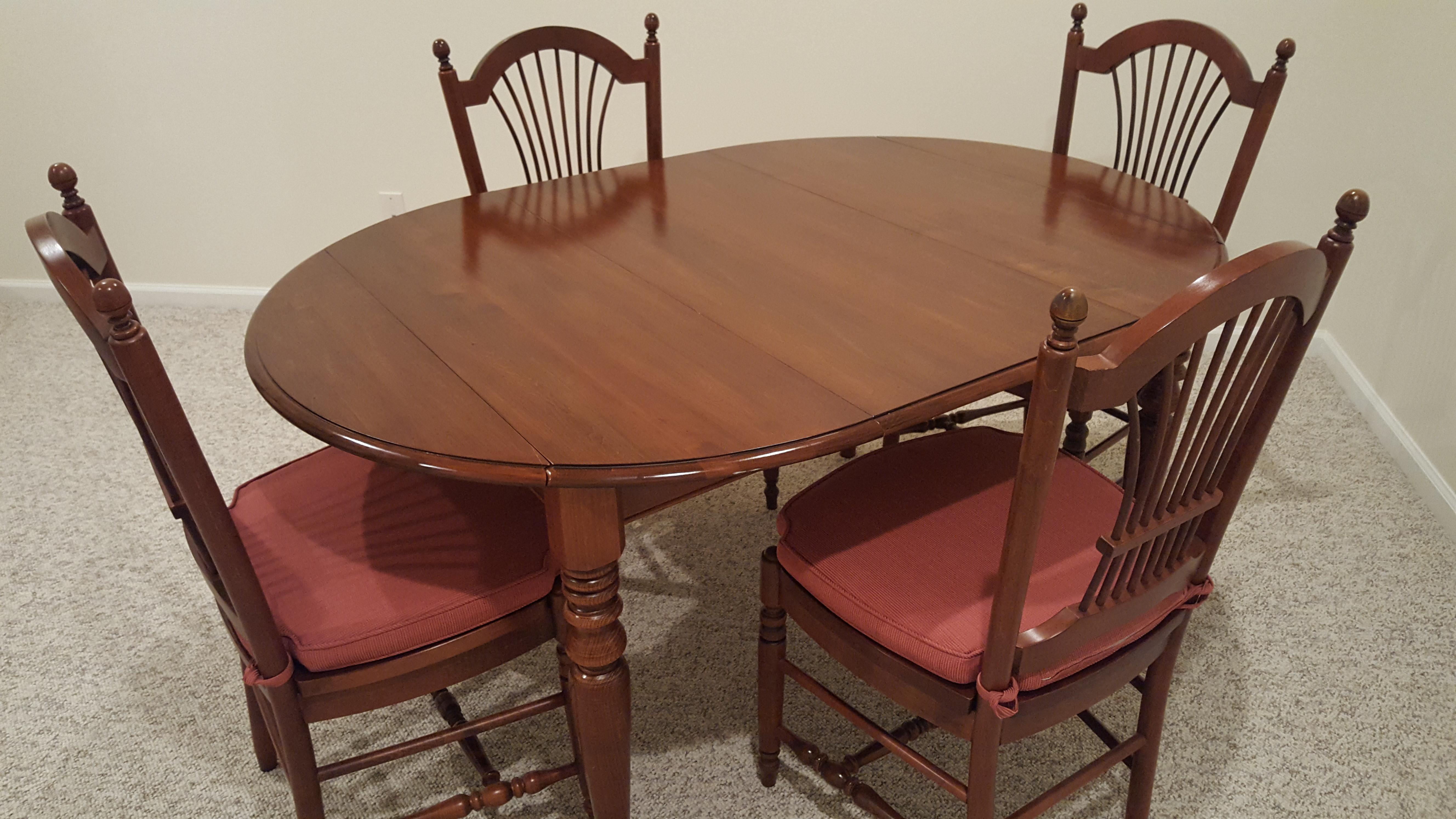 Ethan Allen 5-Piece Dining Set