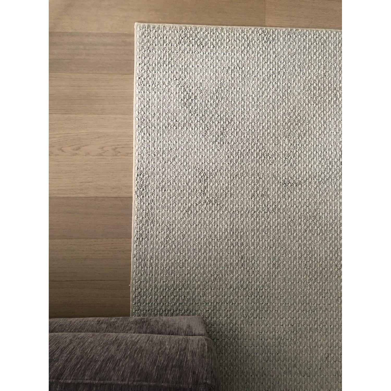 Grey Wool Area Rug - image-0