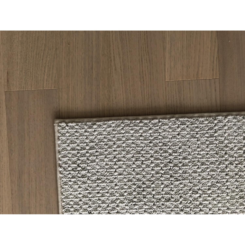Grey Wool Area Rug - image-1