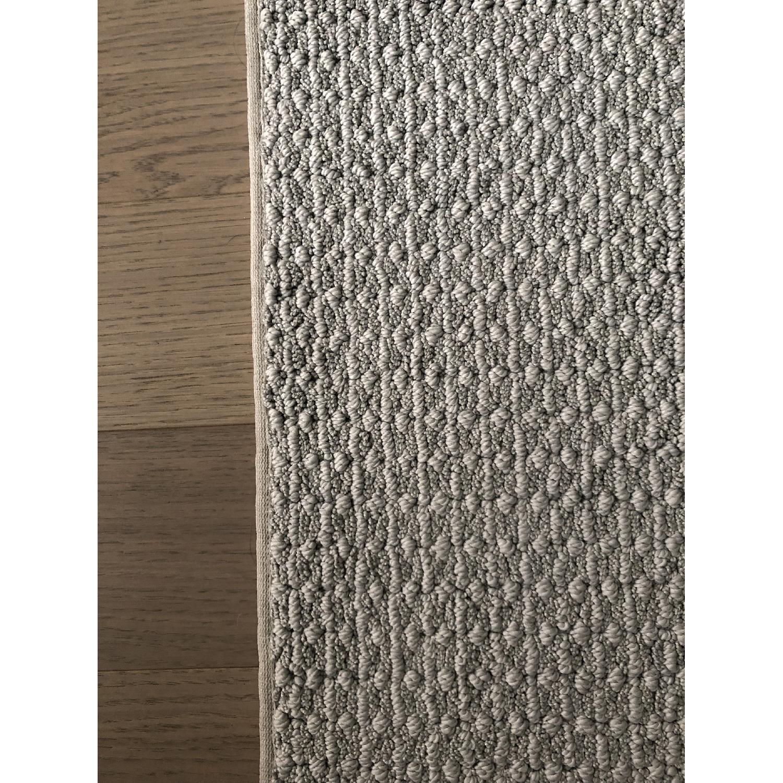 Grey Wool Area Rug - image-2