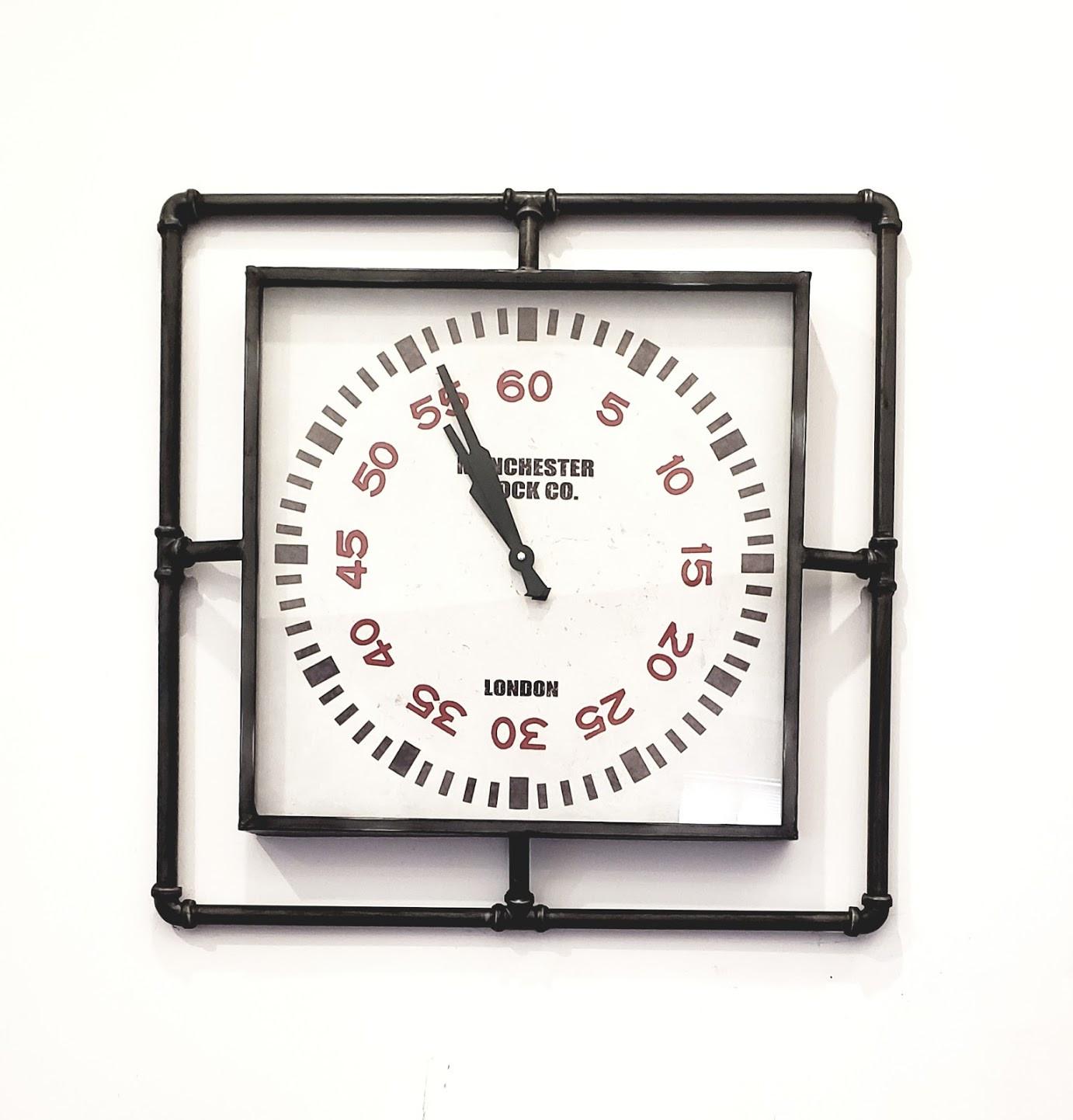Trent Austin Design Melanie Industrial Wall Clock