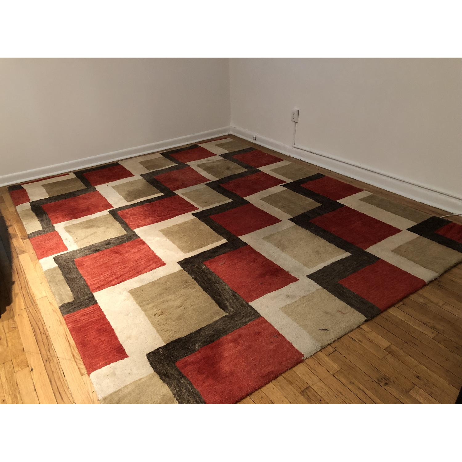 Crate & Barrel Area Rug - image-1