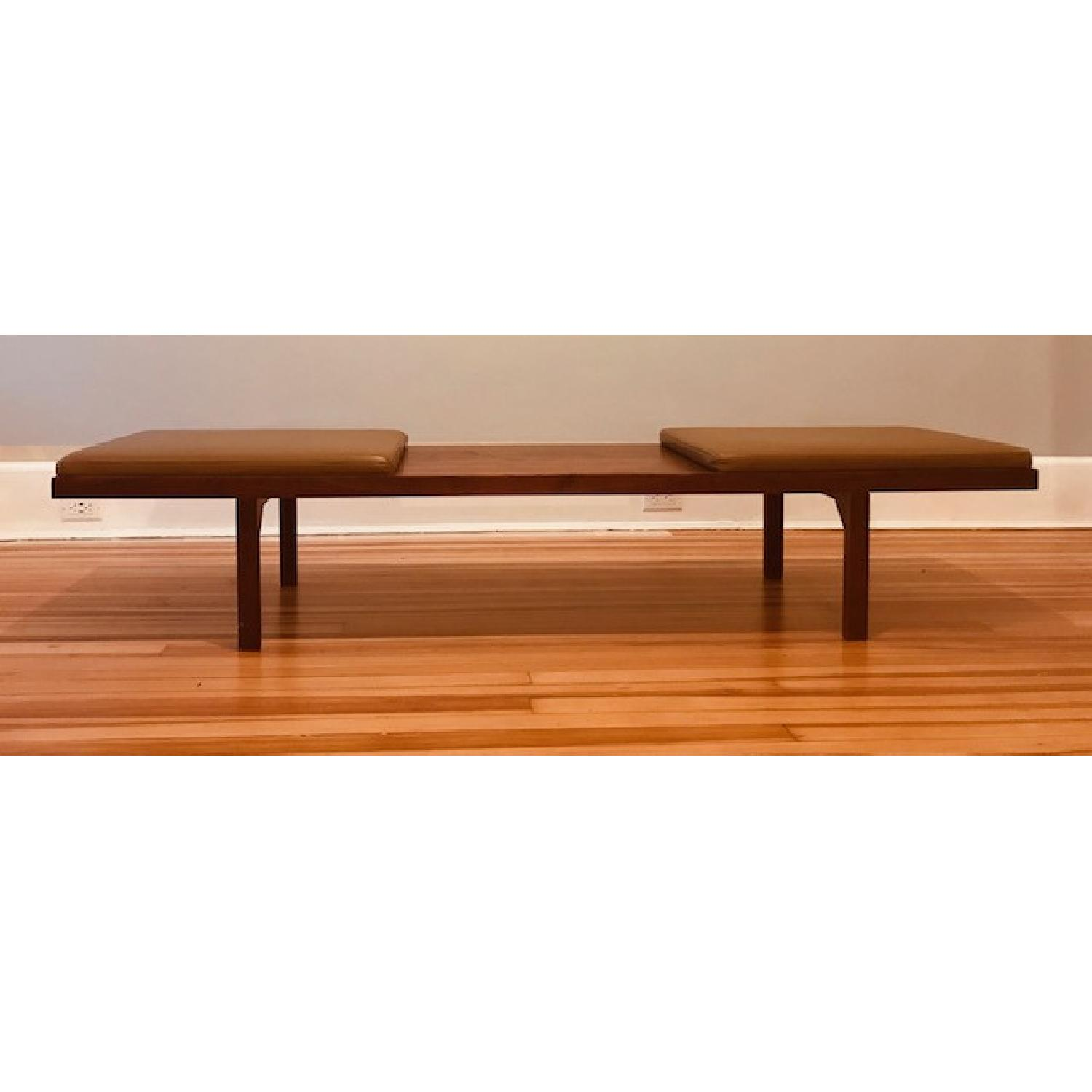 Organic Modernism Coffee Table/Mueller Bench - image-1