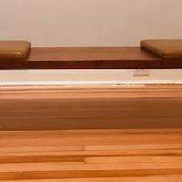 Organic Modernism Coffee Table/Mueller Bench