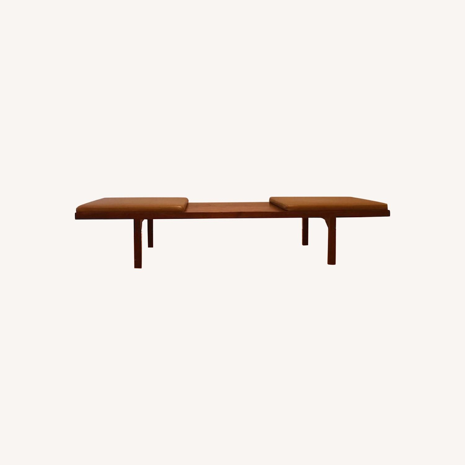 Organic Modernism Coffee Table/Mueller Bench - image-0