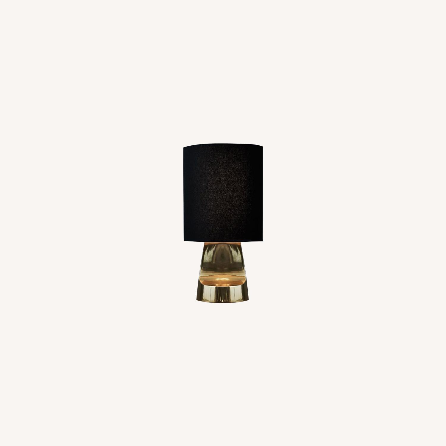 West Elm Small Sculptural Metal Table Lamp - image-0