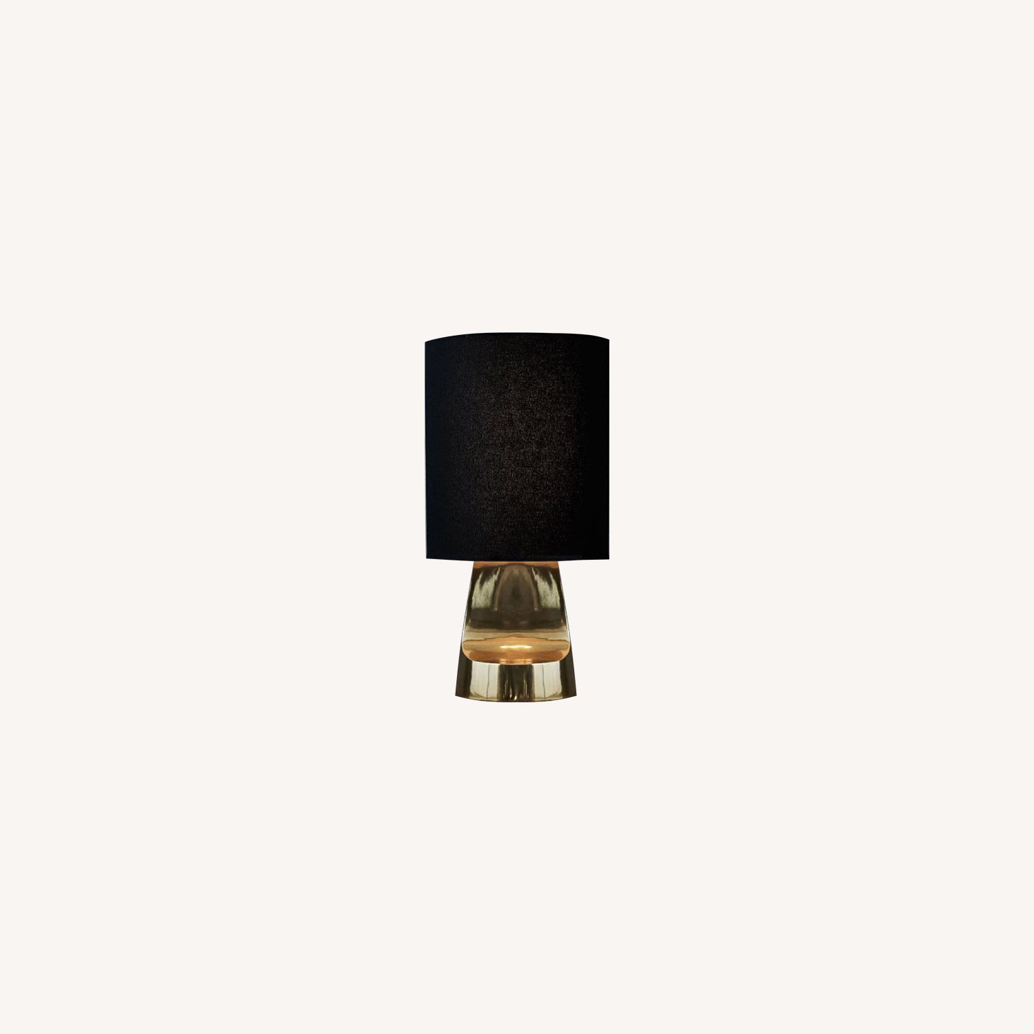 West Elm Small Sculptural Metal Table Lamp