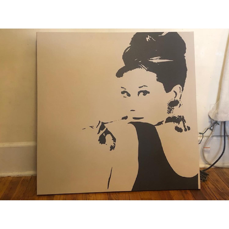 Audrey Hepburn Canvas Print - image-1