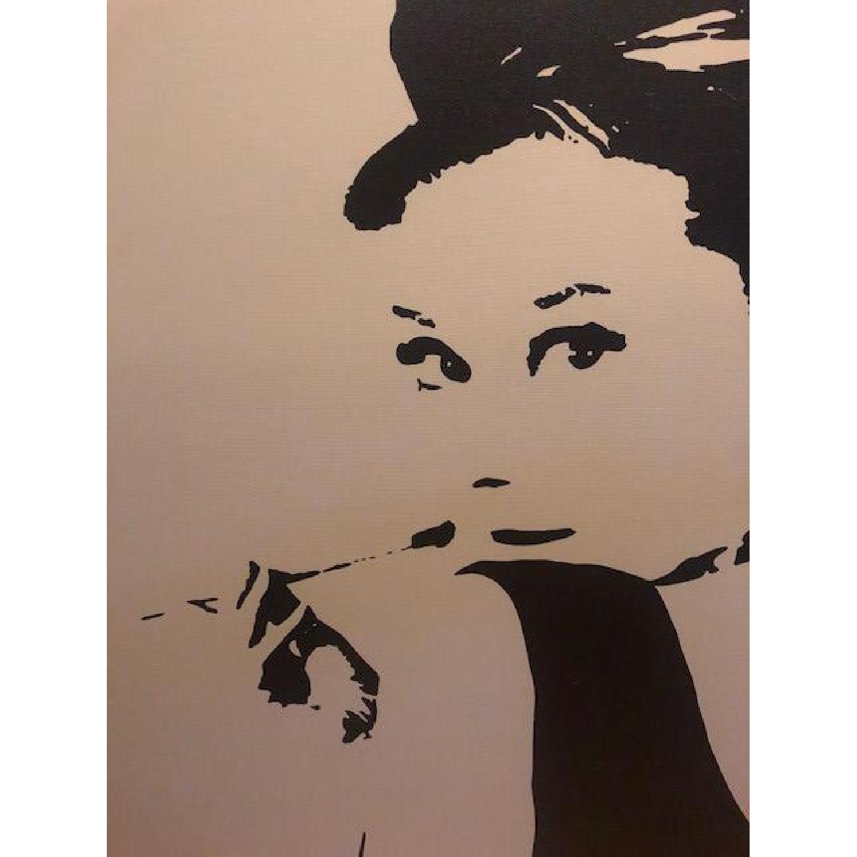 Audrey Hepburn Canvas Print - image-0