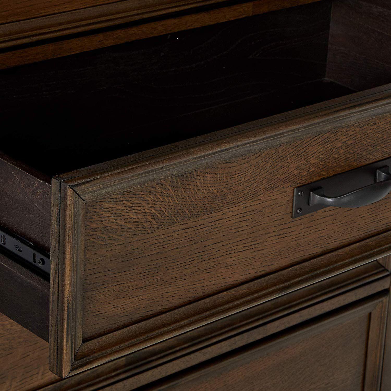 Craftsman Style Chest in Burnished Oak Finish - image-3