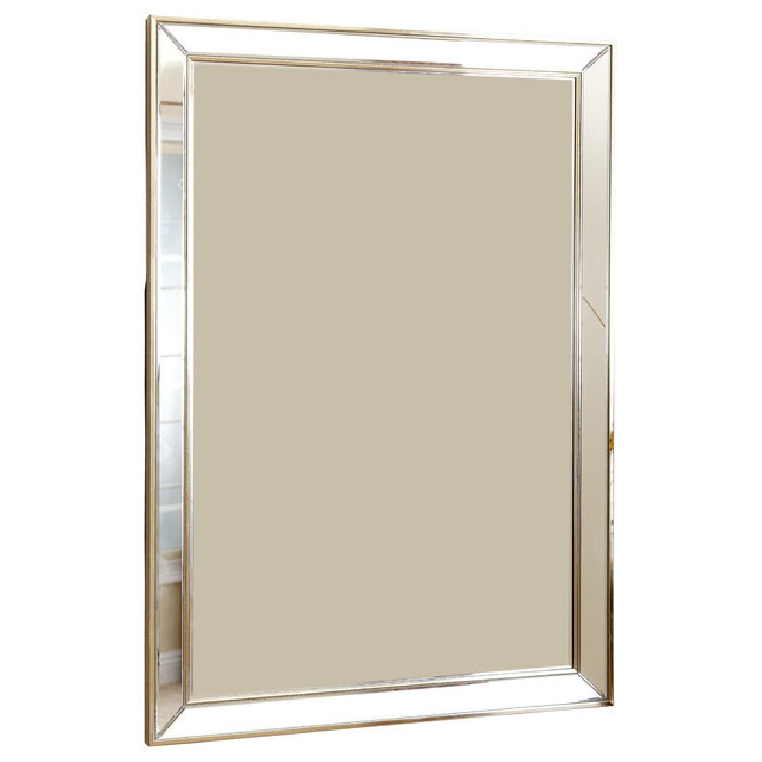 Abbyson Living Rectangular Wall Mirror - image-4