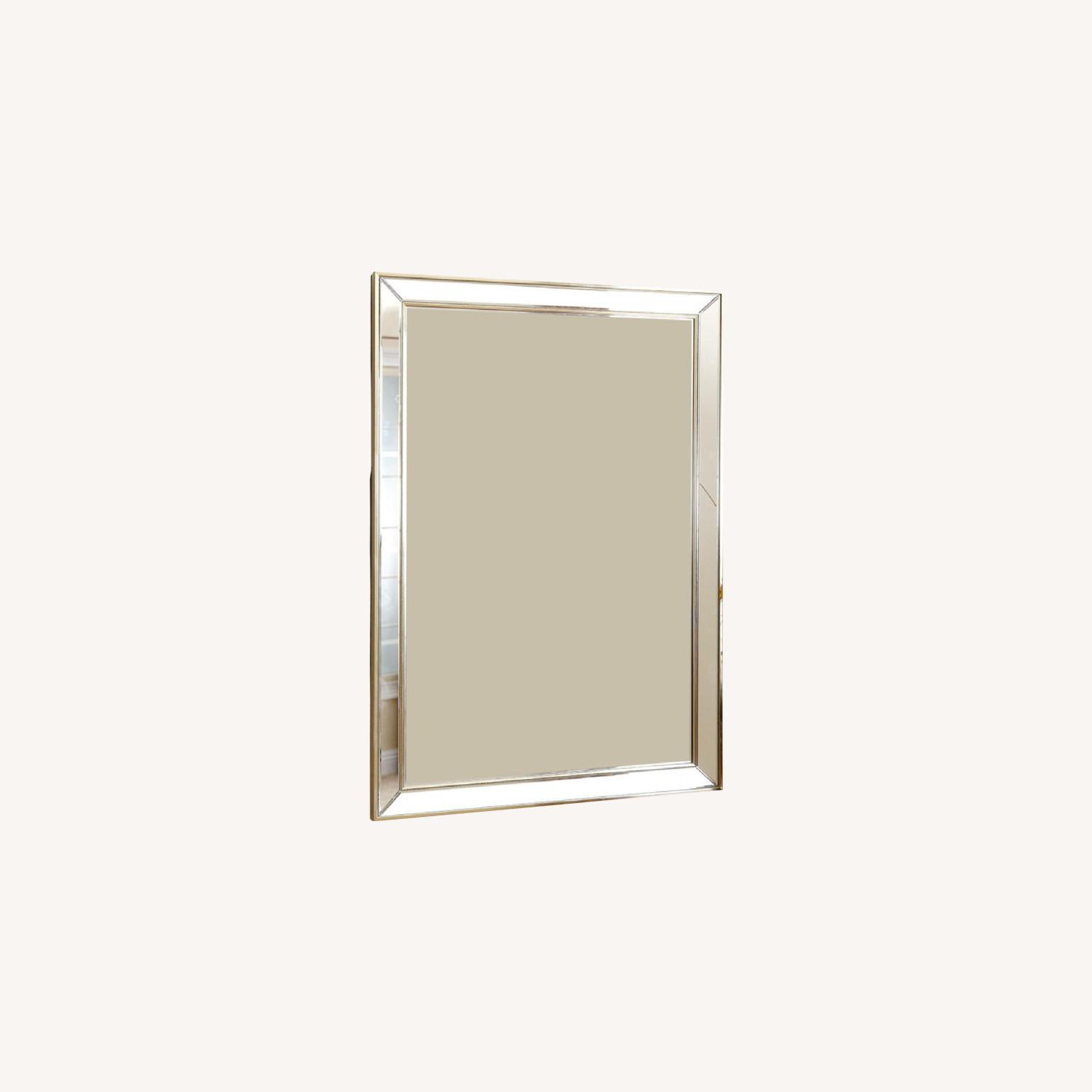 Abbyson Living Rectangular Wall Mirror - image-0