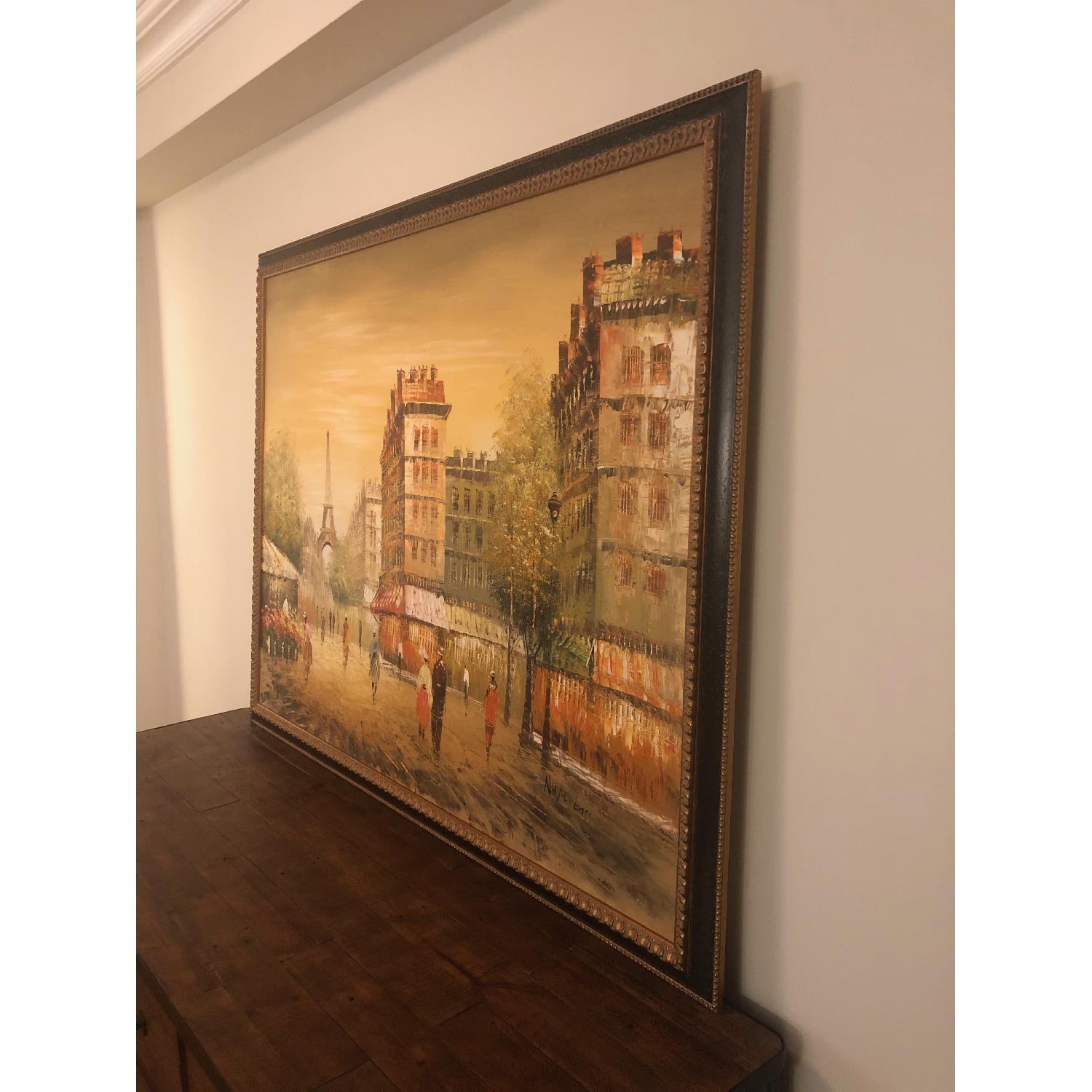 Framed Paris Painting - image-4