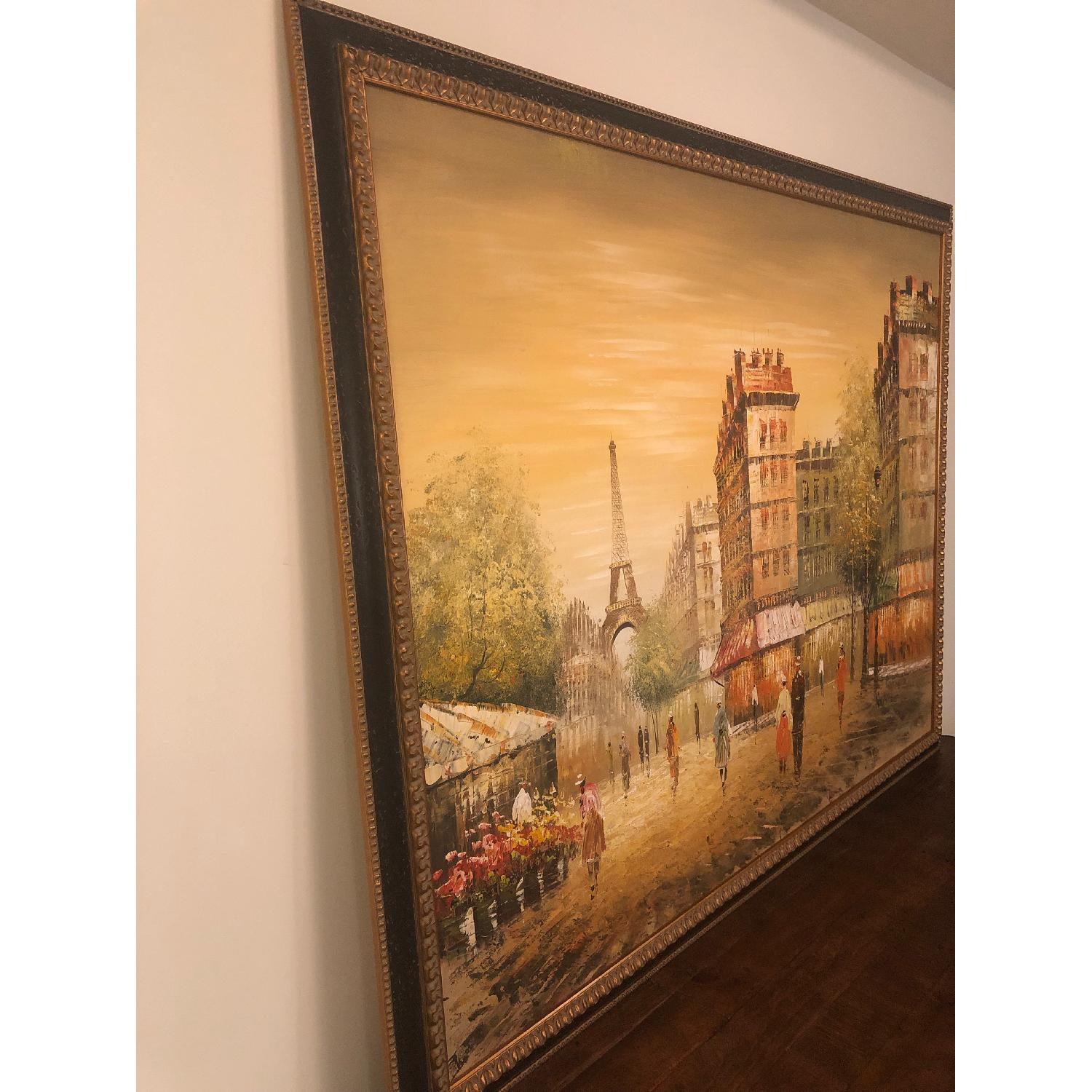 Framed Paris Painting - image-5