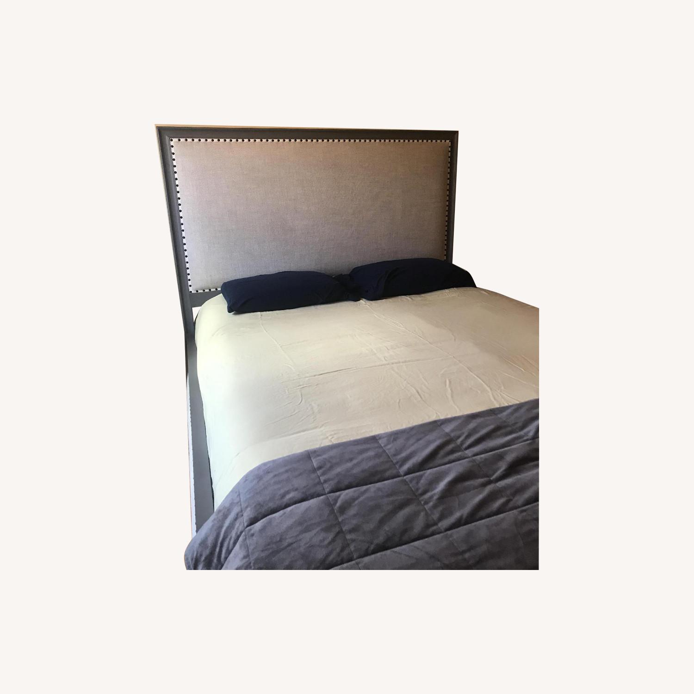 Restoration Hardware Maison Panel Fabric Bed