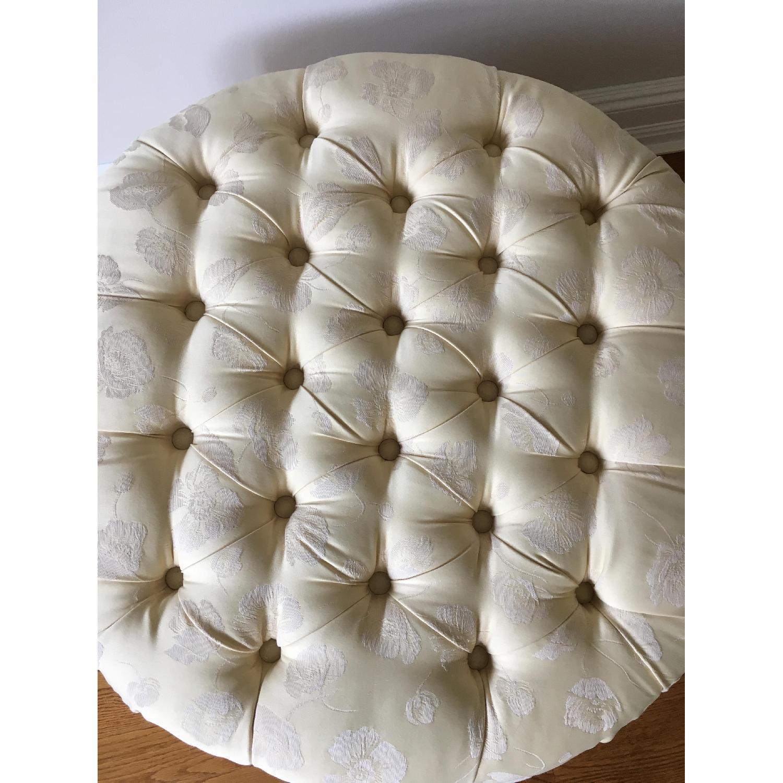 Custom Upholstered Ottoman/Footstool - image-6