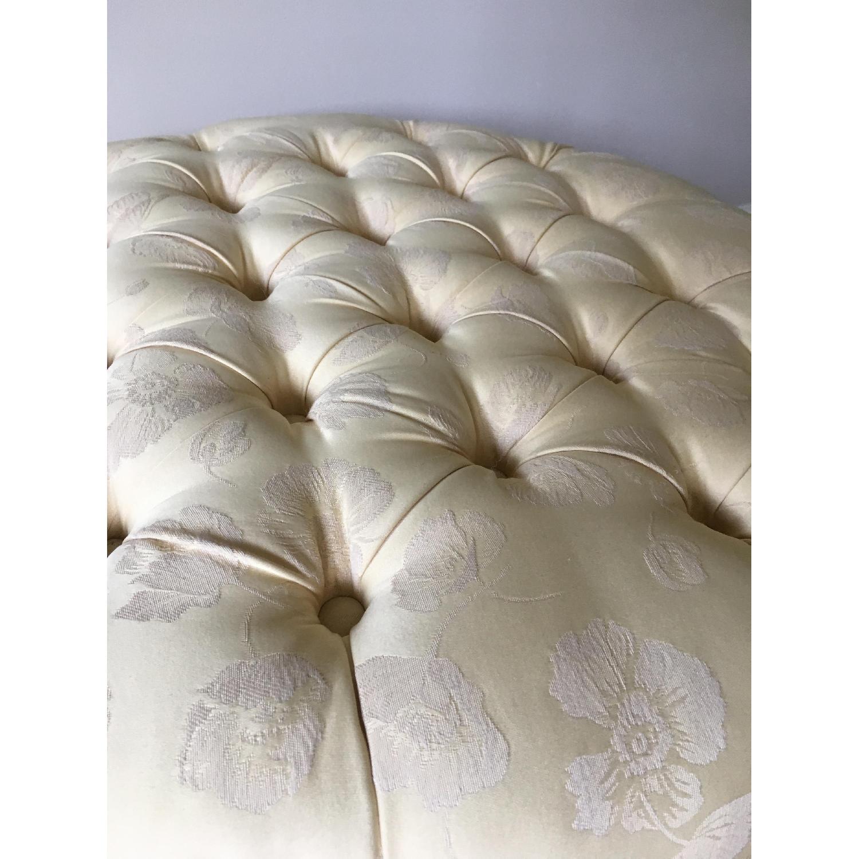 Custom Upholstered Ottoman/Footstool - image-5